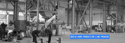 quality Resin Sand Production Line factories