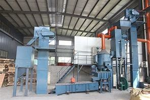 3T Capacity Coated Sand Production Line Vertical Shaft Coating Drying Drum Sand Machine