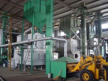 Foundry Coating Sand Production Line High Efficiency Convenient Maintenance