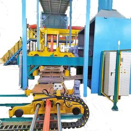 China Green Sand Automatic Molding Line Highly Efficient Good Parts Interchangeable factory